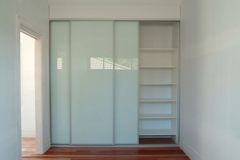 Kitchen Storage Cabinet With Glass Doors